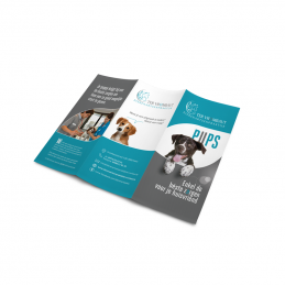 Leaflets trifold roll